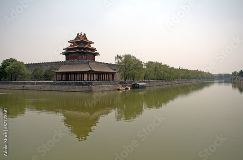 Photo Stands Beijing The Forbidden City, Beijing, China