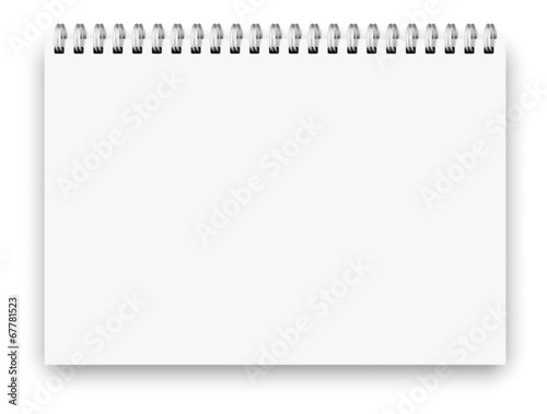 Notebook a4 size Fototapet