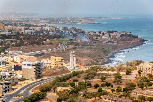 Wall Murals Africa Aerial view of Dakar