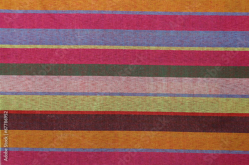 Colorful loincloth fabric background Canvas Print