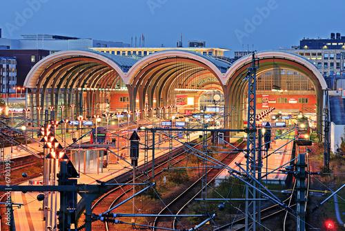 Foto auf AluDibond Bahnhof Kieler Hauptbahnhof