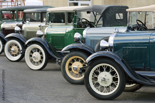 Model A Fords Canvas Print