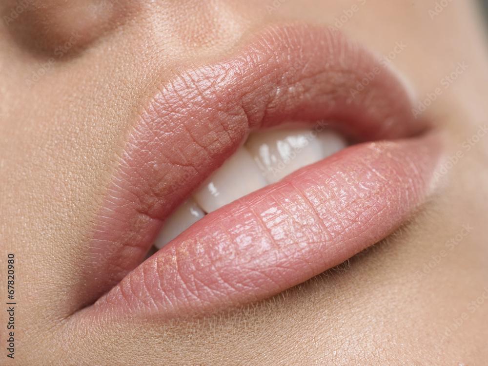Belles lèvres naturelles Poster