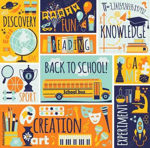 powrot-do-szkoly-ilustracji-wektorowych