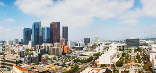 Canvas Prints Kuala Lumpur Los Angeles cityscape panorama
