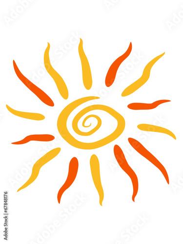 Wirbel Spirale Sonne – kaufen Sie diese Illustration und finden Sie ...