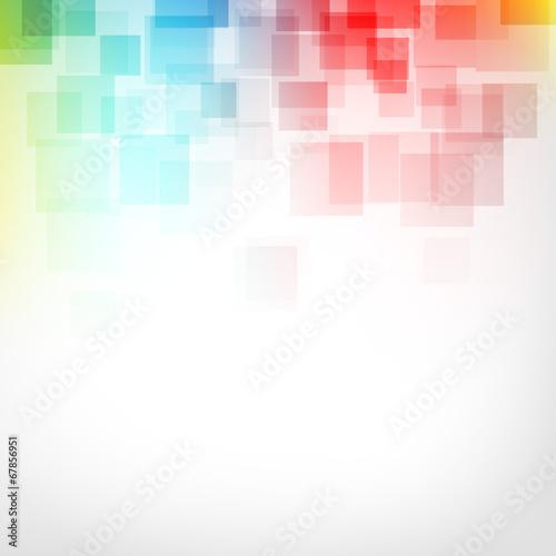 Fotografia  kwadraty abstrakcyjne tło wektor