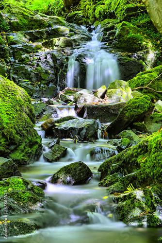 natural waterfall - 67864523