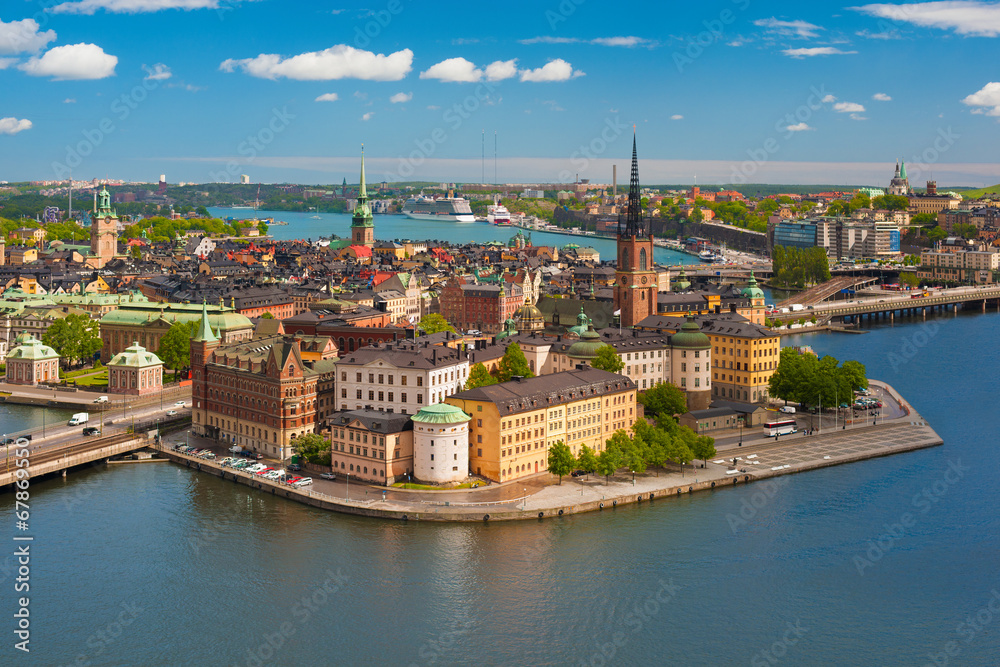 Fotografia  Gamla stan in Stockholm