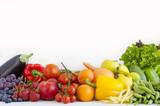 Fototapeta Rainbow - warzywa i owoce w kolorach tęczy