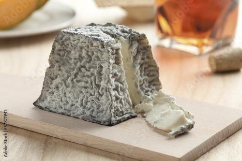Fotografie, Tablou  Fresh Valencay cheese
