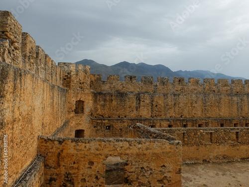 Poster Athens Стены крепости