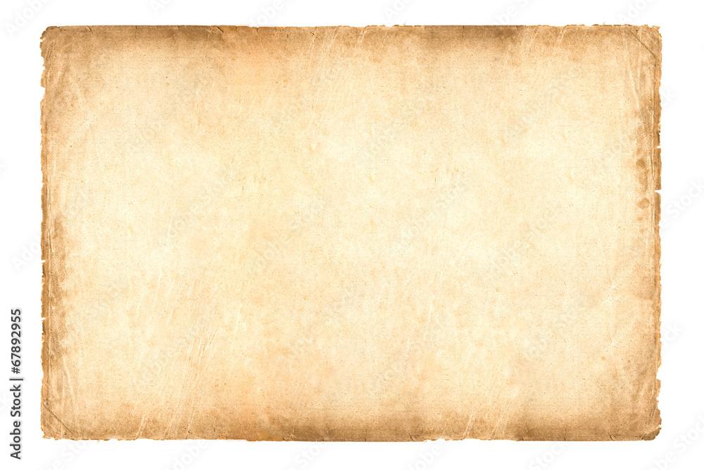 Fototapety, obrazy: old paper 2 * 3 size (Ratio)