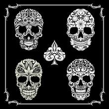 Bundle Skull Ornamental