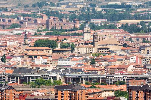 Panorámica del centro de Vitoria, España