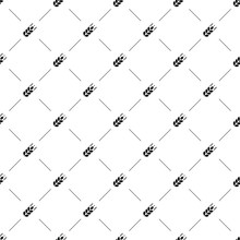 Vector Seamless Pattern, Agriculture