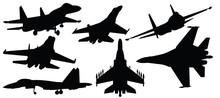 Vector Illustration Of Fighter...