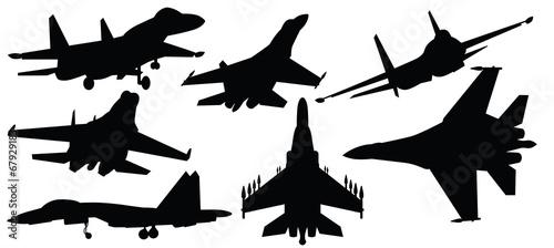 Foto vector illustration of fighter jet,war plane