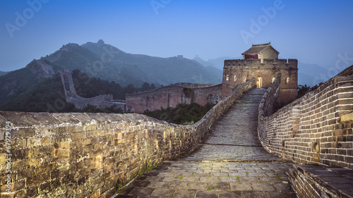 Poster Chinese Muur Great Wall of China