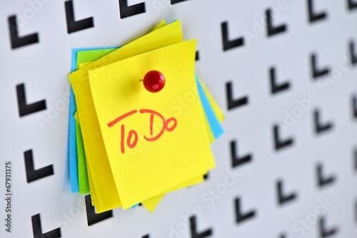 Photo  To Do, Stress, Burn Out, Selbstorganisation, Zeitmanagement