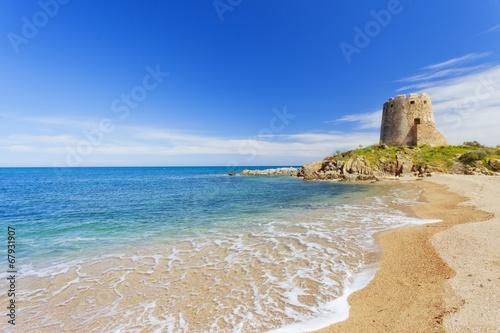 Photo  Barisardo beach.Sardinia.
