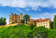 Hohenschwangau Castle In The B...