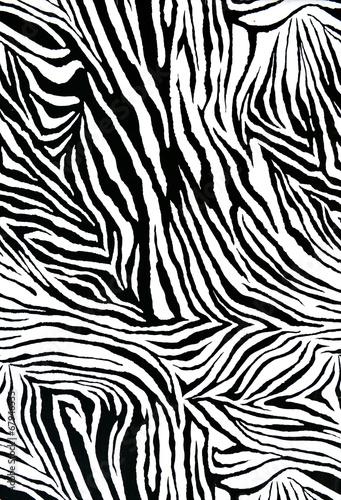Canvas Prints Zebra zebra style fabric