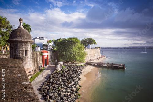 Foto op Canvas Vestingwerk San Juan, Puerto Rico