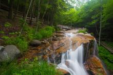 Waterfalls In  White Mountains...