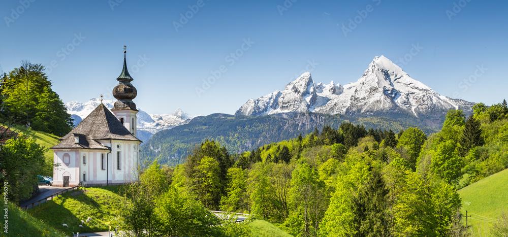 Fototapety, obrazy: Nationalpark Berchtesgadener Land, Bavaria, Germany
