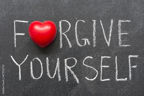 Fotografía  Perdónate a ti mismo
