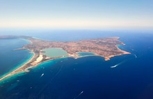 Aerial View Of Formentera.