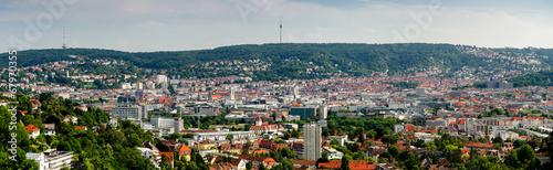 Foto op Plexiglas Panoramafoto s Stuttgart Panorama