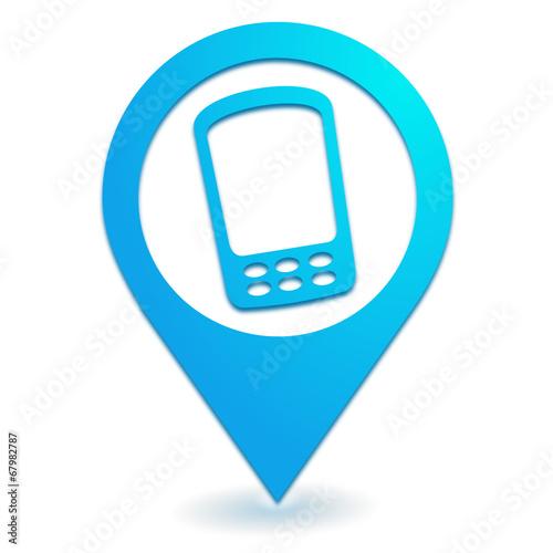 Localisation d'un téléphone portable