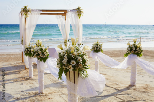 Fotomural Wedding arch a