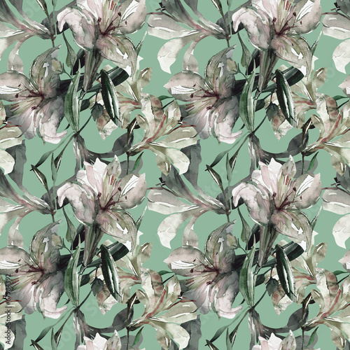 wzor-bialej-lilii