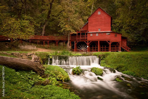 Photo  Red Gristmill