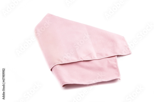 75bac1e4b Crumpled pink microfiber cloth isolated on white background - Buy ...