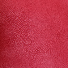 Textured Red Leather Background