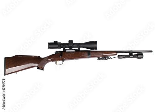 Fotografía  Hunting rifle