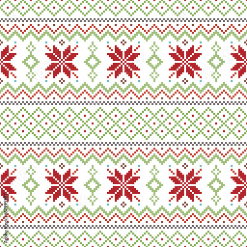 abstract-christmas-pattern-background-vector