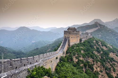 Stickers pour portes Muraille de Chine Great Wall of China