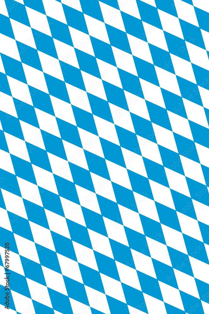 Oktoberfest Hintergrund Bayern Flagge Muster 3