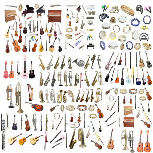 Different music instruments - 68025355