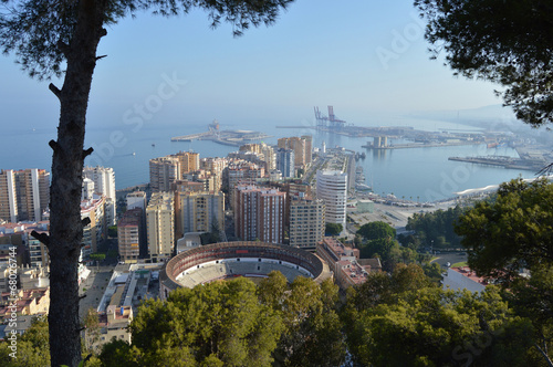 Málaga, panorámica, La Malagueta