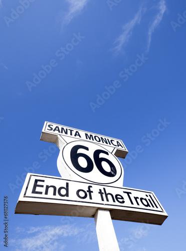 Keuken foto achterwand Route 66 route 66 end