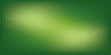 Abstract Green Background Text...