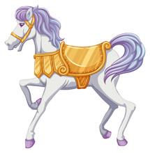 A Carrousel Horse
