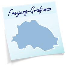 Freyung-Grafenau Als Notizzettel
