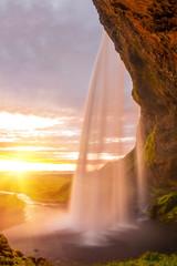 Obraz na Szkle Krajobraz Seljalandsfoss